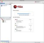 Running an automated scan with Vega.